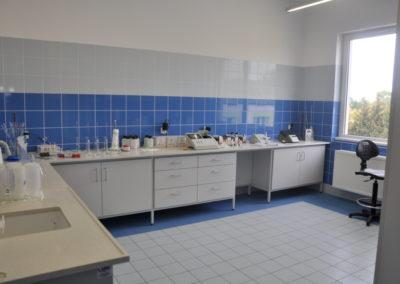 Budynek socjalno-techniczny - labolatorium