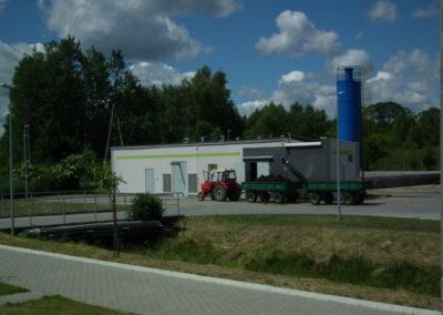 Stacja mechanicznego odwadniania i higienizacji osadu 1